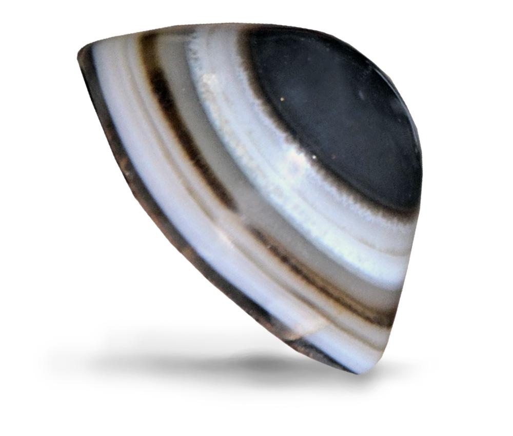 pietra agata occhio di shiva