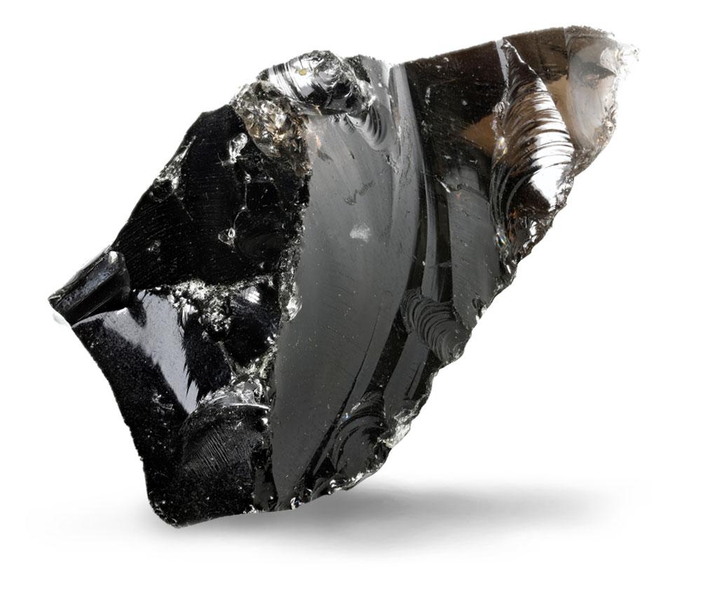 pietra ossidiana nera